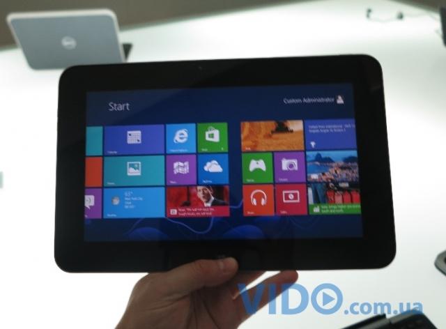 IFA 2012: Dell анонсирует планшет-трансформер XPS 10 на базе ОС Windows 8