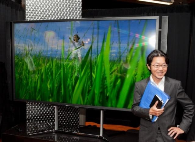 Телевизор Sony: 84 дюйма и разрешение 4К