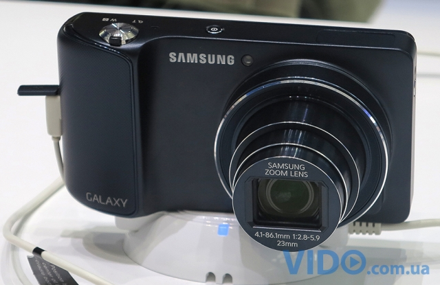 Репортаж IFA 2012: Samsung GALAXY Camera под управлением ОС Google Android 4.1 Jelly Bean