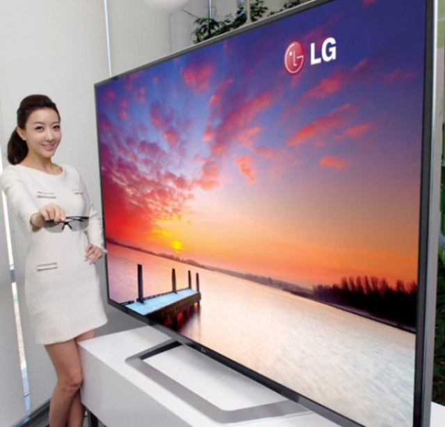 "OLED-Телевизор LG 55"" – теперь с 3D!"
