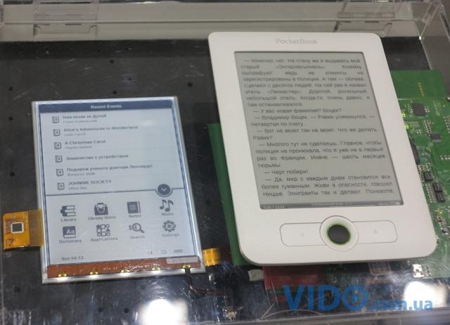 Репортаж IFA 2012: PocketBook демонстрирует дисплей E Ink Pearl HD