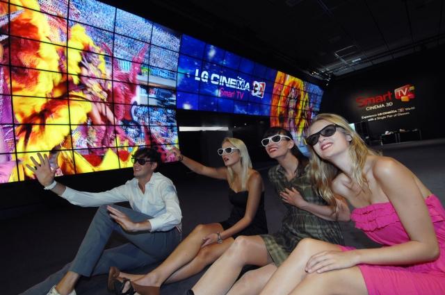 IFA 2012: линейка продуктов для домашних развлечений от LG