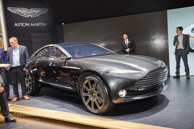 Aston Martin представил в Женеве свой первый электрический автомобиль DBX Concept