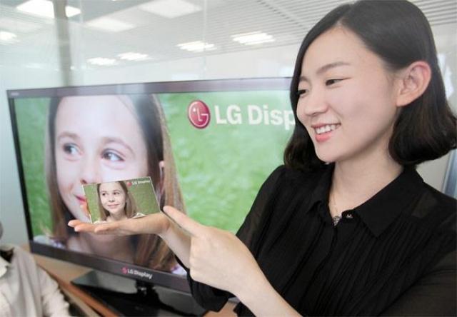 5 дюймов Full HD от LG Electronics
