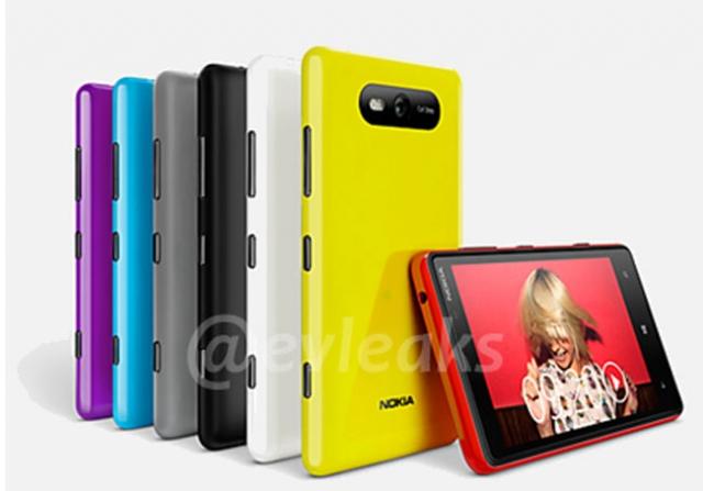 Уже на этой неделе Nokia официально представит свои новые модели  Lumia 820 и Lumia 920
