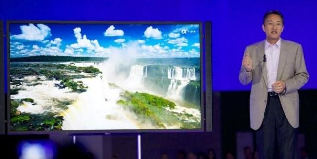 Sony объявила о цене и дате выхода 4K TV