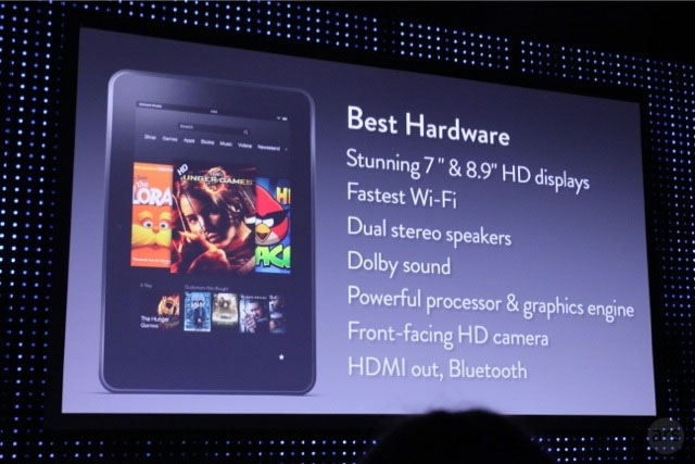Kindle Fire и Kindle Fire HD – новые планшеты от Amazon
