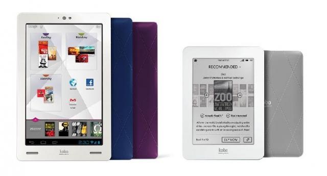 Kobo Arc против Kindle Fire от Amazon