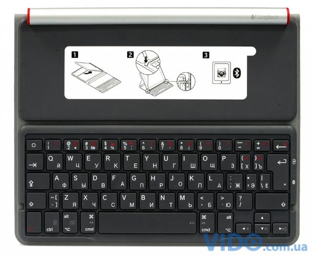 Logitech Solar Keyboard Folio: теперь солнце работает на вас!