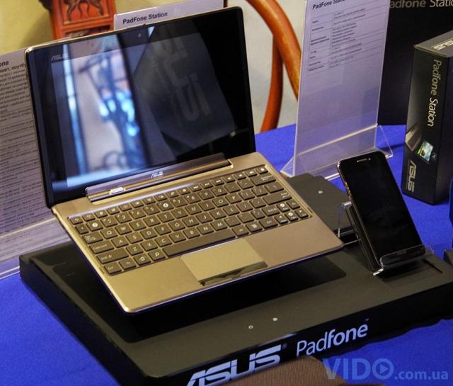 В Украине представлен ASUS Padfone