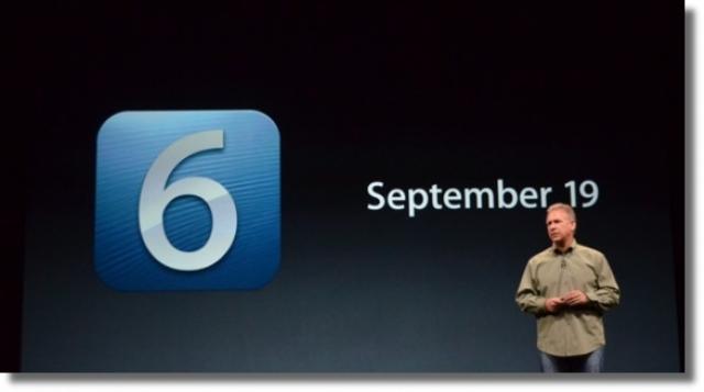 Apple официально подтвердила дату релиза iOS 6