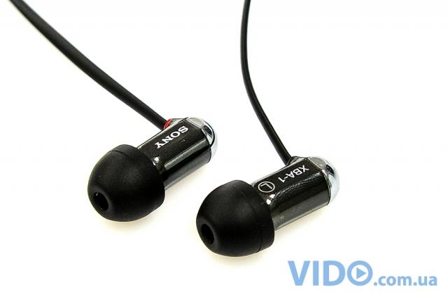 Sony XBA-1: включи музыку, выключи мир!