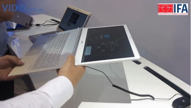 Ультрабуки серии Acer Aspire S7 будут доступны уже в октябре