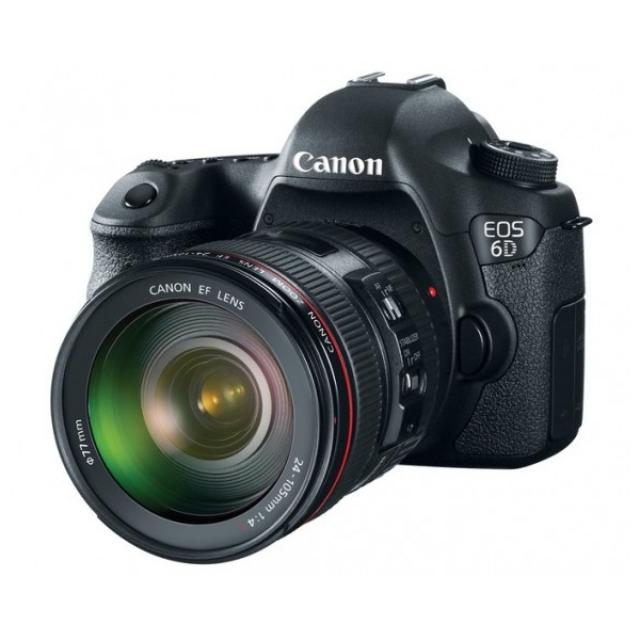 Canon представляет 20,2-мегапиксельную зеркальную камеру EOS 6D