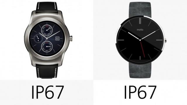 Сравнение умных часов LG Watch Urbane и Moto 360