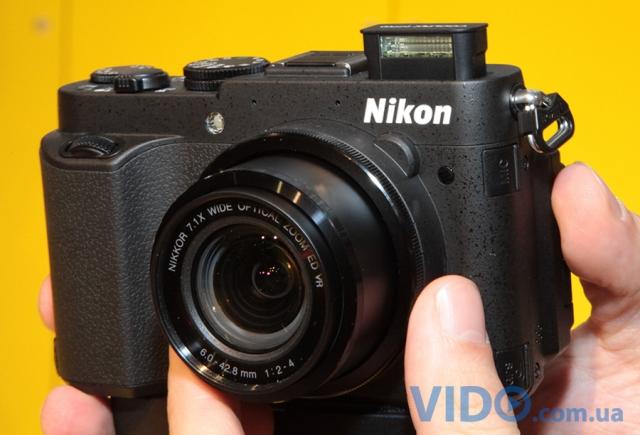 Photokina 2012: Nikon Coolpix P7700 – компакт для продвинутого любителя