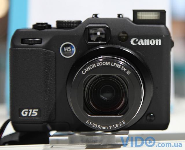 Photokina 2012: Canon PowerShot G15 – получила самый светосильный объектив в серии G