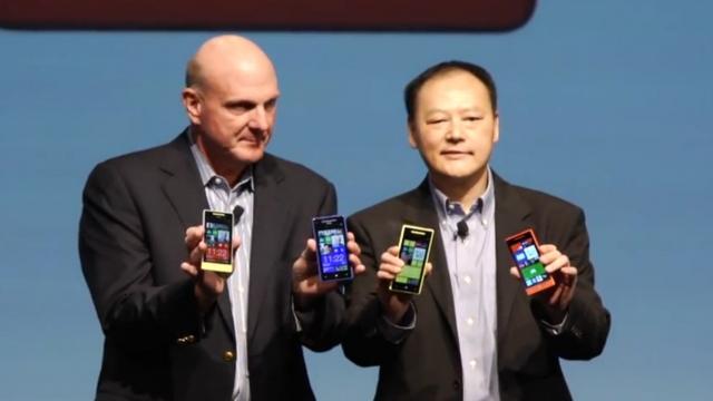 Видео презентации HTC Windows Phone 8X и 8S