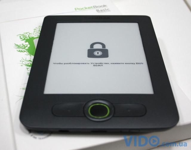 В Украине представлен новый ридер PocketBook Basic New 613