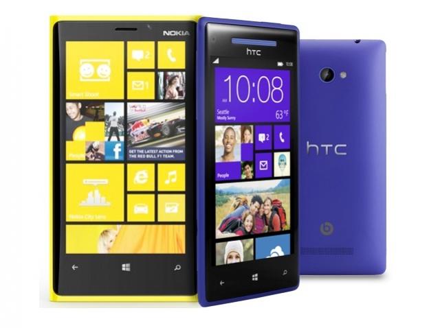 Покупаем новый смартфон: Nokia Lumia 920 против HTC Windows Phone 8X
