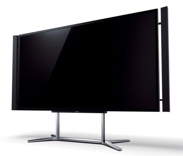 Флагманский ЖК-телевизор Sony с диагональю 84-дюйма и разрешением 4K