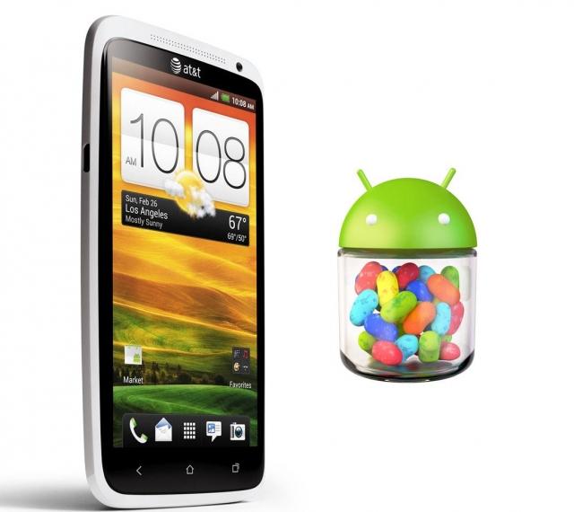 Jelly Bean появится на  HTC One X и One S в октябре