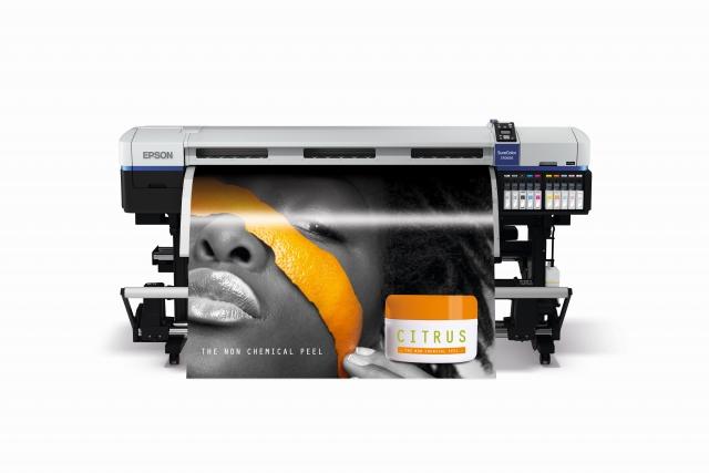 Epson SureColor SC-S70610: печать цвета металлик