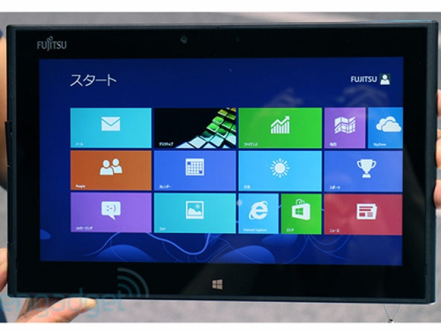 Fujutsu анонсировала водонепроницаемый планшет