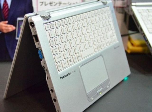 Новый, необычный ультрабук на базе Windows 8 от Panasonic