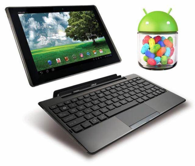 ASUS обновит планшеты Transformer Prime и Infinity Pad до Android 4.1