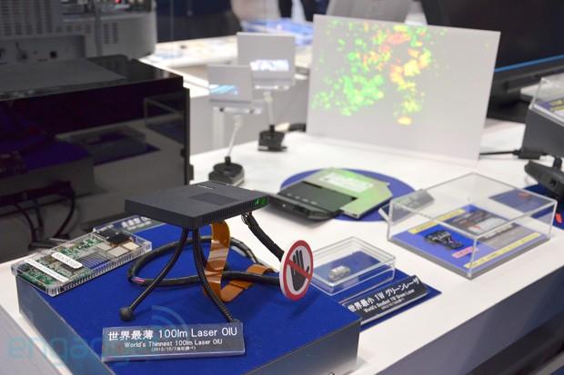 Panasonic представила тончайший в мире лазерный проектор