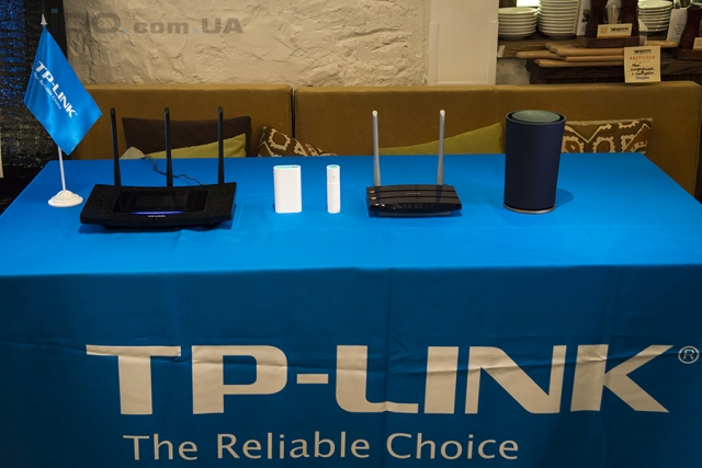В Киеве представлены новые устройства TP-LINK