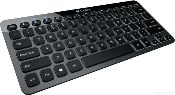 Logitech анонсирует новую клавиатуру K810 с подсветкой и Bluetooth