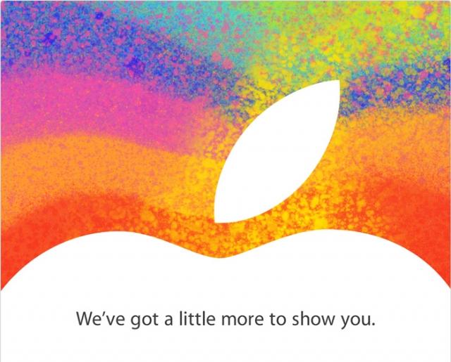 Apple приглашает на презентацию iPad mini