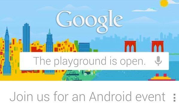 Google приглашает представителей прессы – встреча назначена на 29 октября
