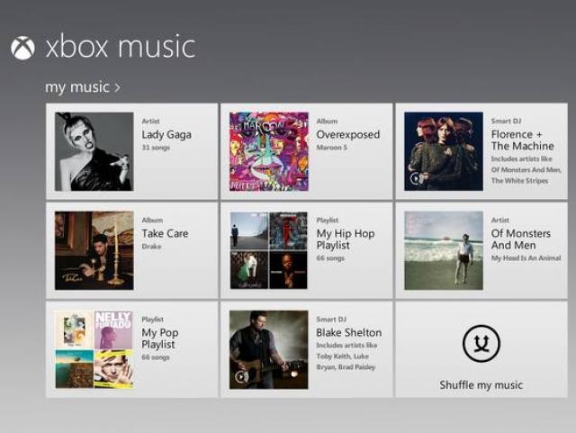 Microsoft запускает Xbox Music. Что нужно знать?