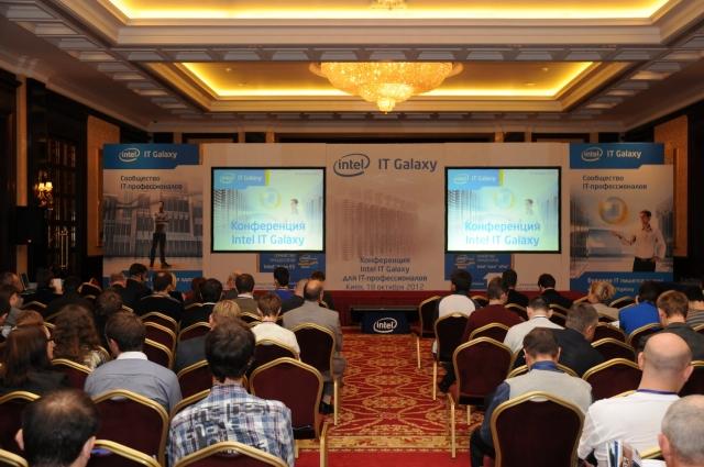 В Киеве прошла конференция Intel IT Galaxy для IT-профессионалов