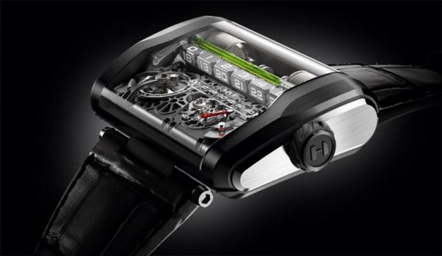 Наручные гидроэлектрические часы HYT H3 – это круче чем обычная механика, но очень дорого