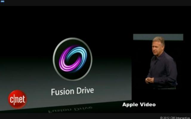 Apple представляет Fusion Drive