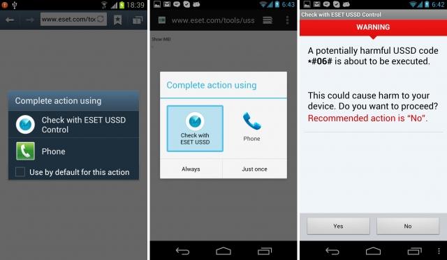 USSD-контроль для пользователей Android