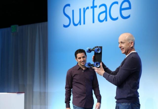 Windows 8 и Microsoft Surface представлены в Нью-Йорке