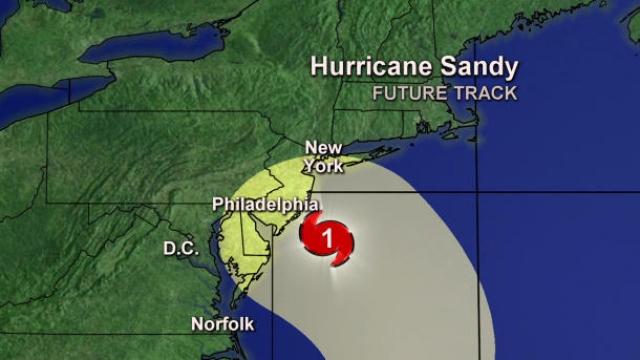 Ураган «Сэнди» изменил планы Google