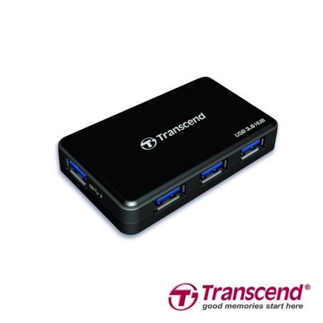 Хаб Transcend с USB 3.0 и портом быстрой зарядки для iPad