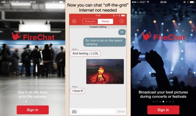 Новое приложение для iOS позволит обмениваться сообщениями без доступа к Интернету