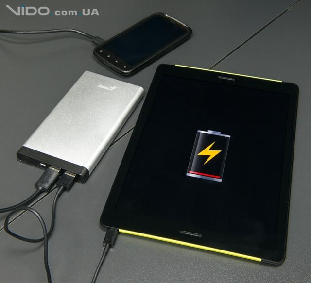 Обзор портативного аккумулятора Genius ECO-u1027: единственный и могучий