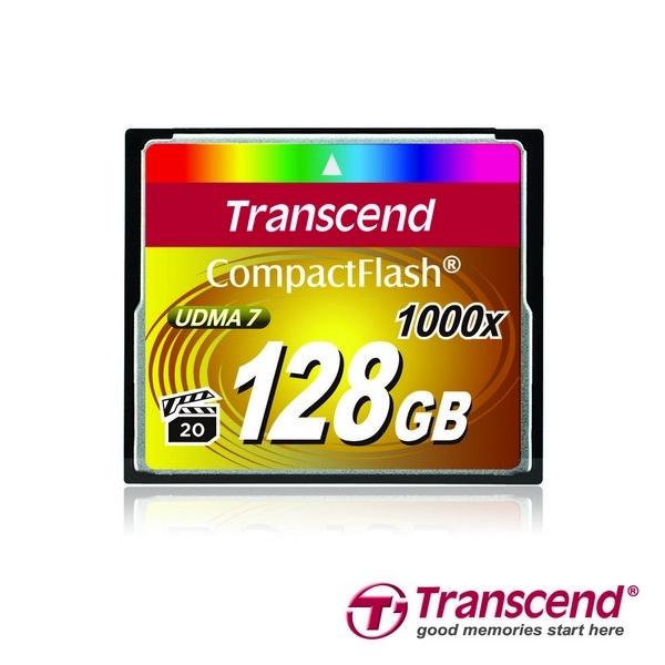 Новые карты 1000x CompactFlash от Transcend