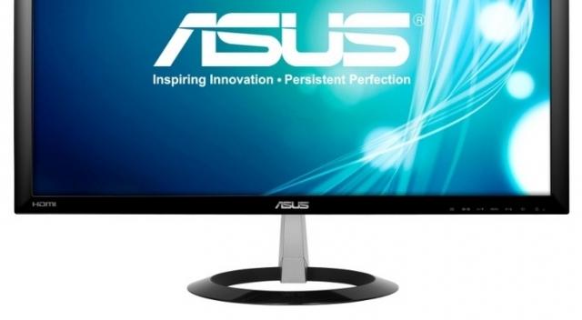 ASUS запускает 23-дюймовые мониторы серии VX