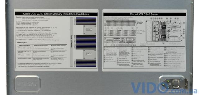 Обзор стоечного сервера Cisco UCS C240 M3