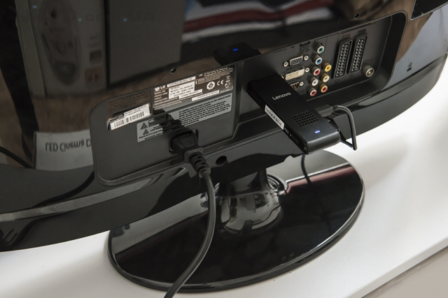 Lenovo Ideacentre Stick 300 (01IBY): как флешка, только компьютер