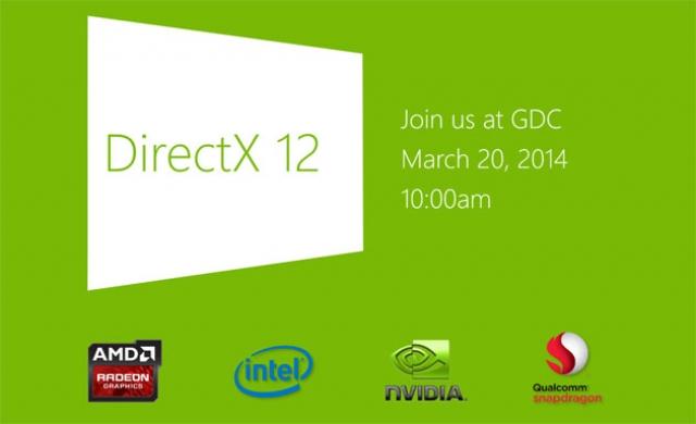 Microsoft анонсировала выход DirectX 12, конкурента AMD Mantle